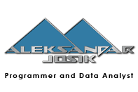 Aleksandar Josik site about my career as developer T-SQL, VB.NET. ASP.NET, VBA, XML, Jscript, Jquery